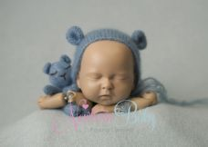 Paler Blue Backdrop & Bear Bundle